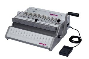 Renz Eco 360 Comfort Wire Binding Machine