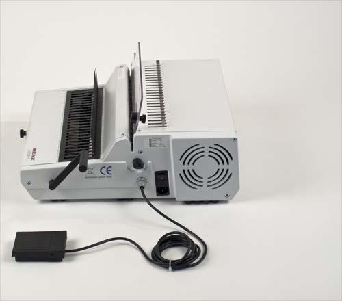 heavy duty comb binding machine