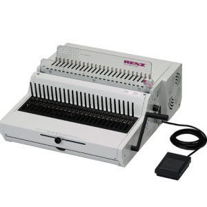 Renz Combi E Heavy Duty Comb Binding Machine