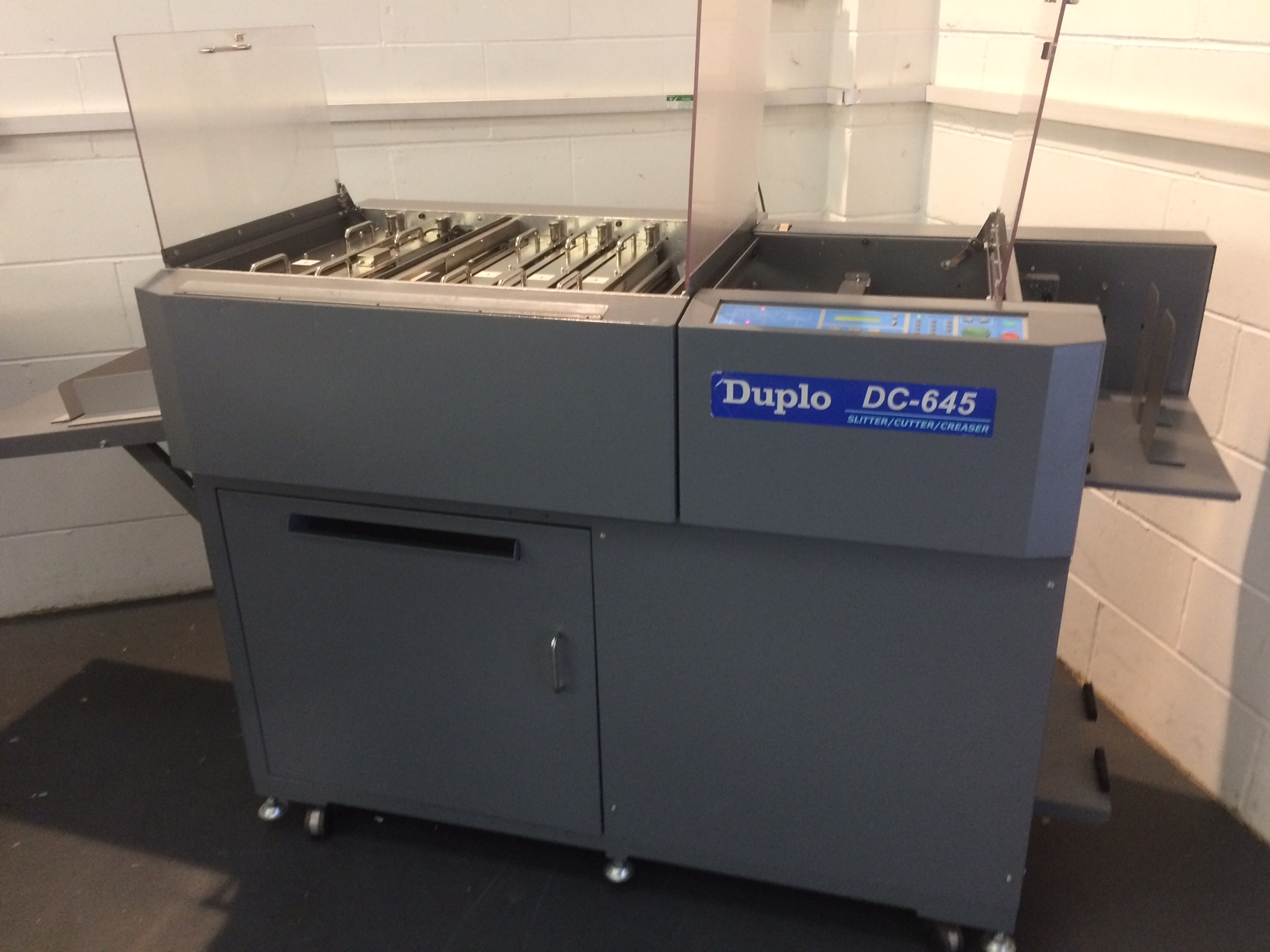 Used Duplo Dc 645 Slitter Cutter Creaser