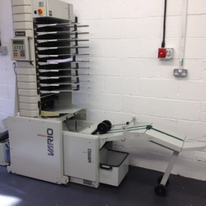 Watkiss Vario SlimVac Collator and Booklet Maker