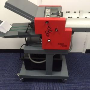 Used Eurofold 235 Folding Machine