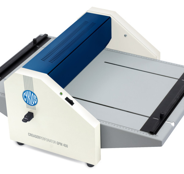 Cyklos GPM450 Electric Creasing Perforating Machine