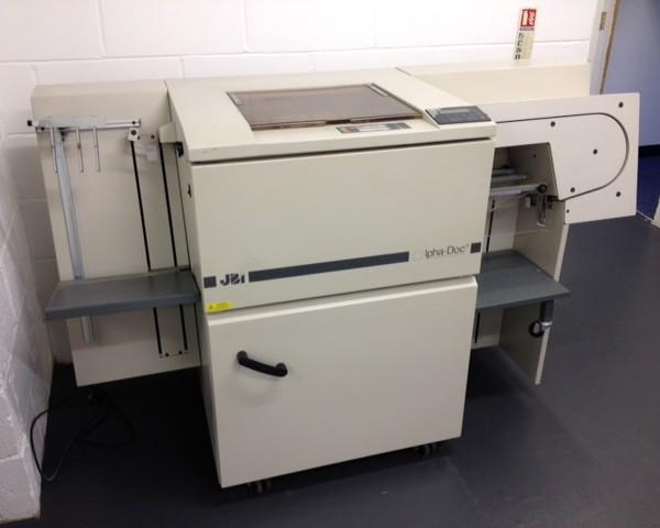 James Burn Alpha-Doc Automatic Paper Punch