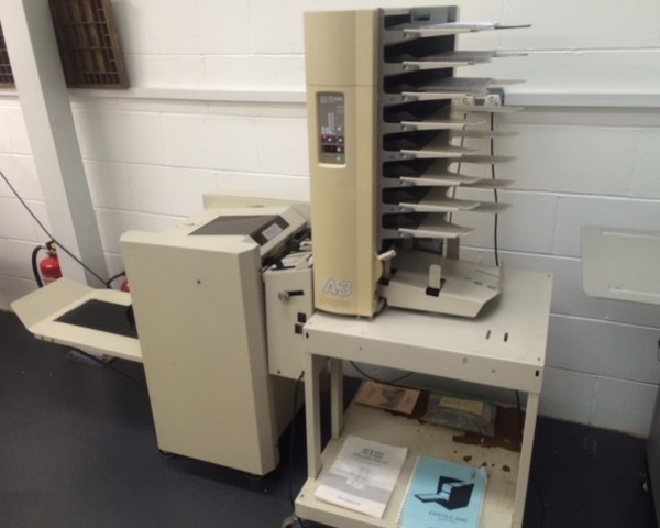 Kasfold Booklet Maker and Duplo DC-8 Collator