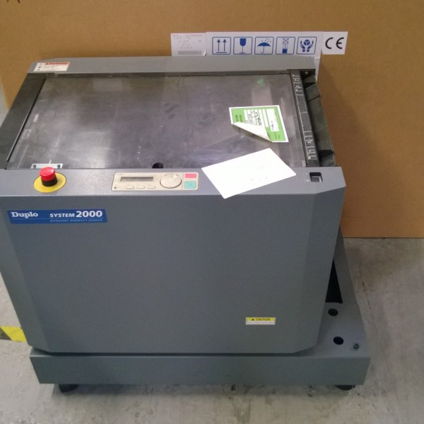 Duplo DBM120 Booklet Maker