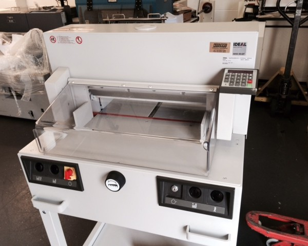 Ideal 4850-95EP Paper Guillotine
