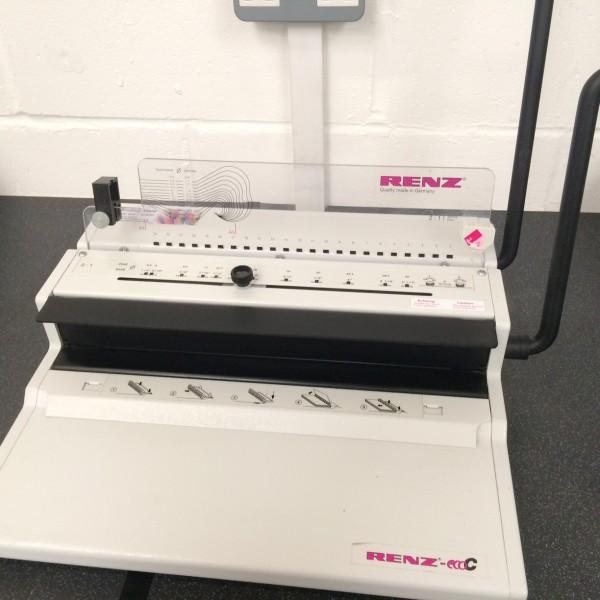 Used Renz Eco C 360 Wire Binding Machine