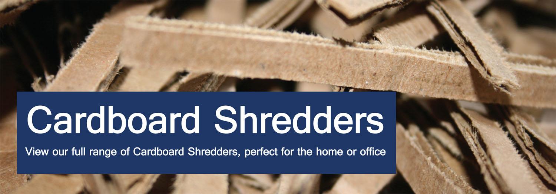 cardboard shredders cardboard shredding machines binding store uk - Home Shredders