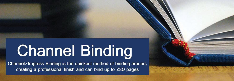 Channel Amp Impress Binding Machines Binding Store Uk