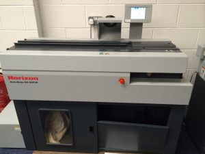 Horizon BQ-160 PUR Perfect Binding Machine