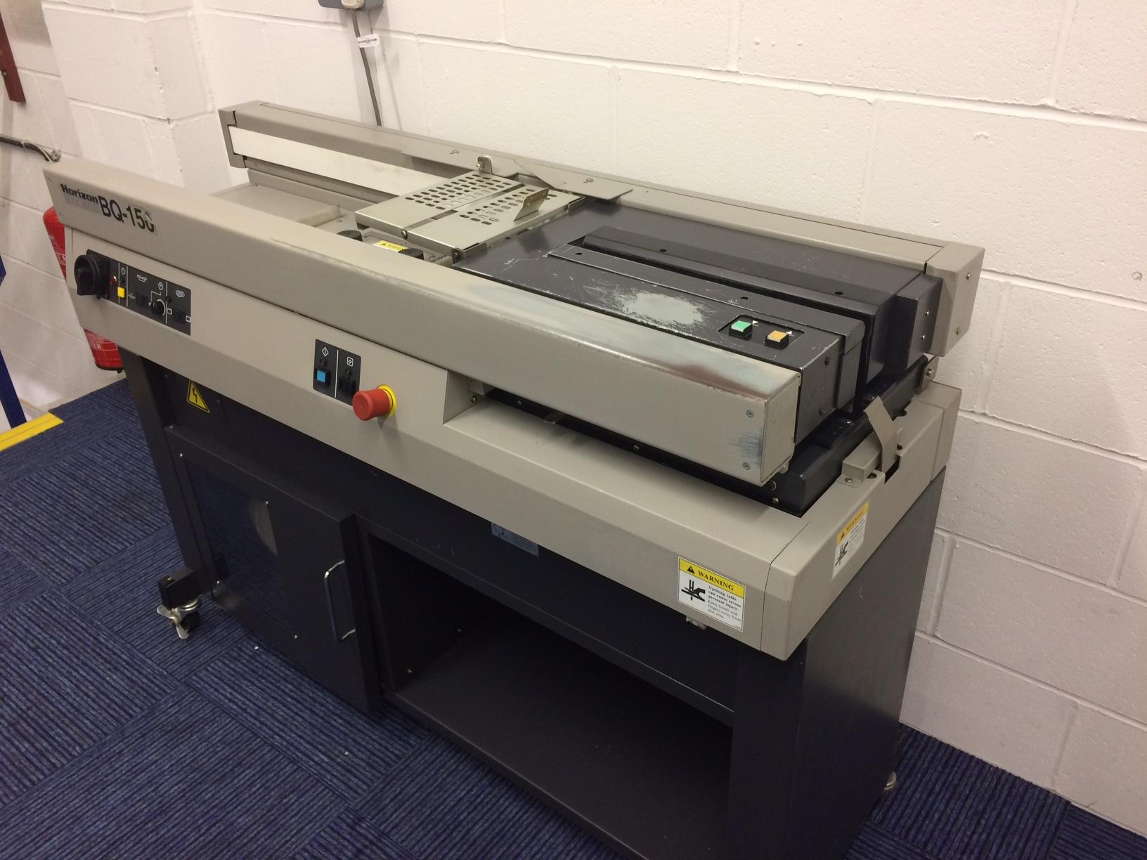 Horizon Bq150 Perfect Binding Machine Perfect Binder