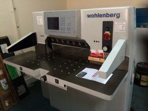Wohlenberg 76 Guillotine