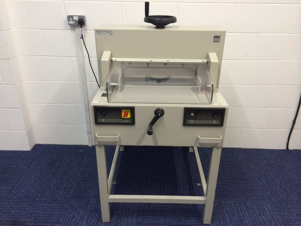 Ideal 4810 95 Paper Guillotine Binding Store Uk