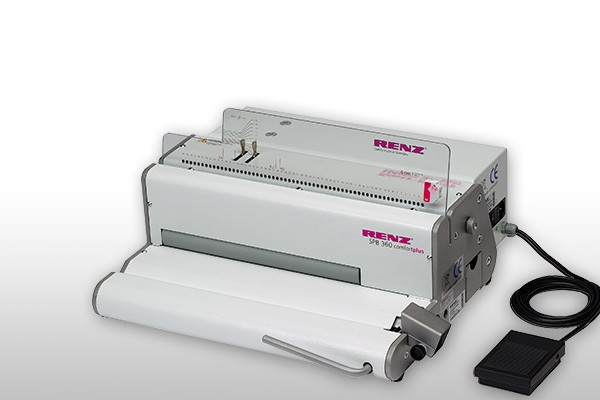 Renz SPB 360 Comfort-Plus Spiral Binding Machine