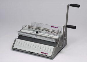 Renz Eco 360 Comfort Wire Binding Machine