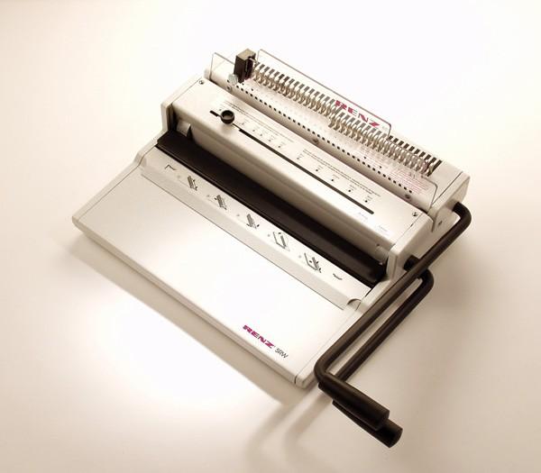 Renz SRW 3:1 wire binding machine