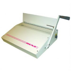 Renz SP 2000 Coil Binding punch