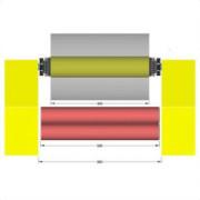 Matrix 530 Roller width