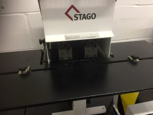 Stago HM6 Twin Head Stapler Guard Up