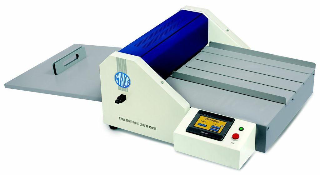 Cyklos GPM 450 SA Electric Creasing/Perforating Machine