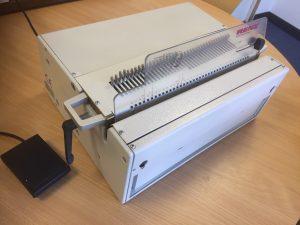 Renz DTP340M Paper Punch