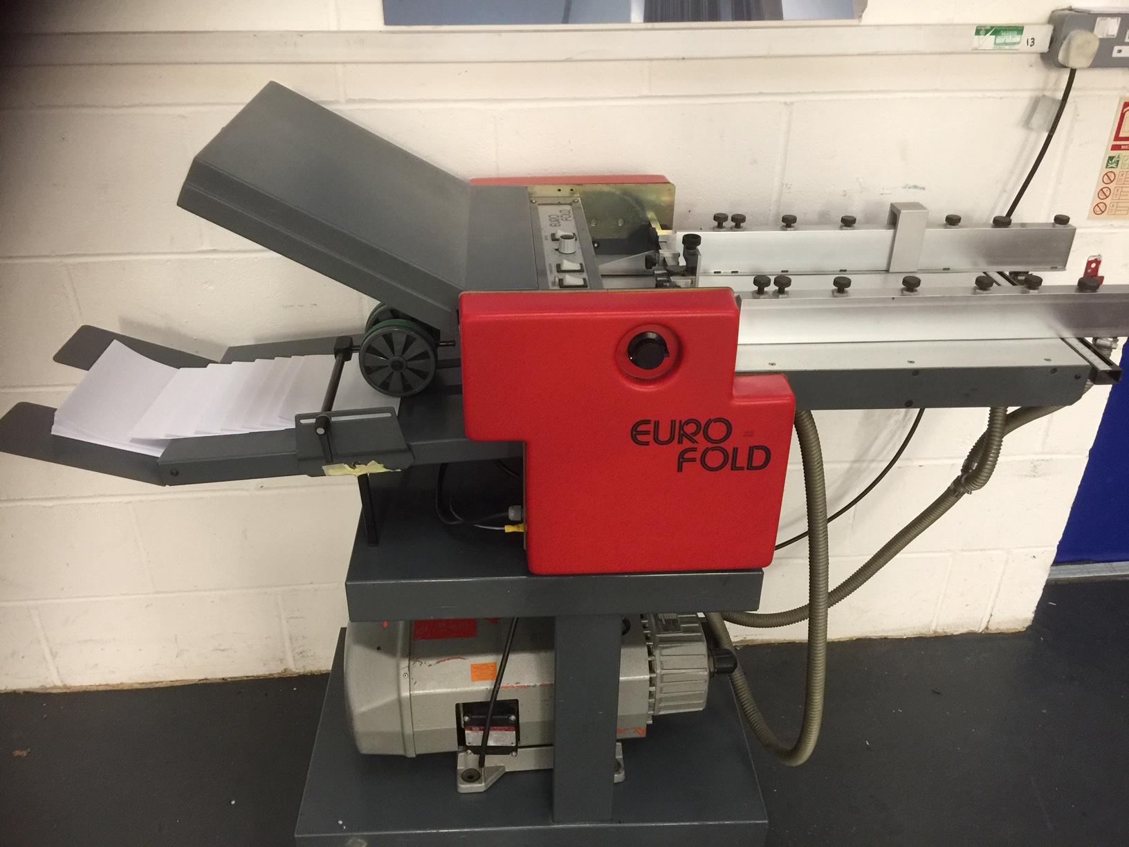 EuroFold 235 paper Folding Machine