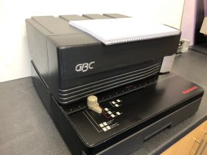 GBC MagnaPunch Wire Binding Punch