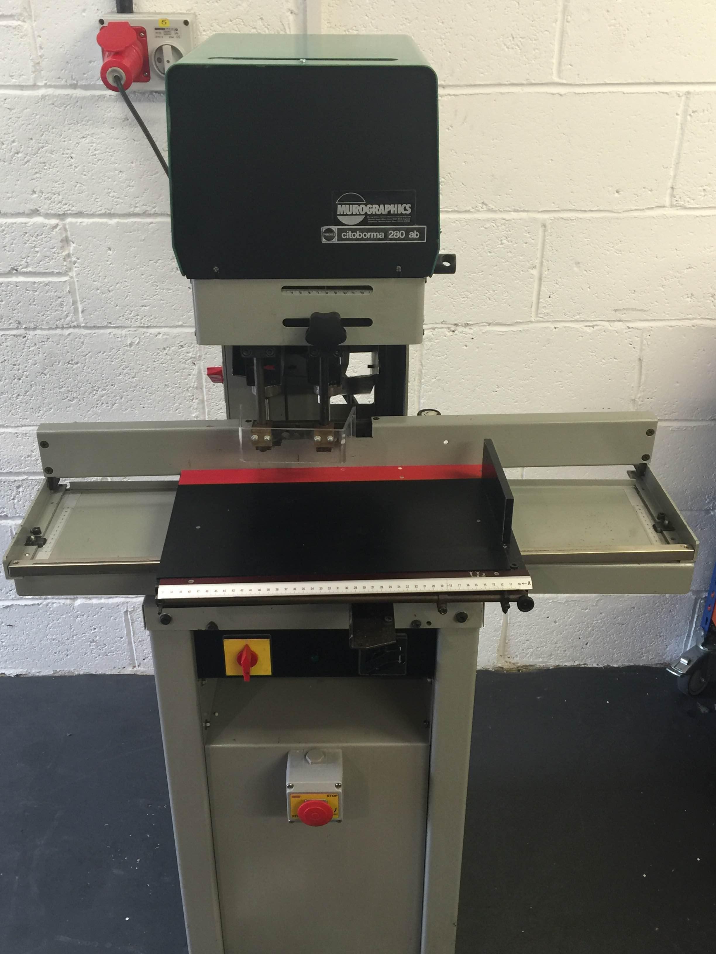 Used Nagel Citoborma 280 Ab Paper Drill Binding Store