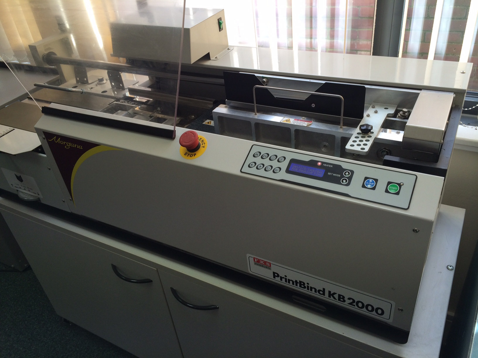Morgana Printbind KB2000 Perfect Binder
