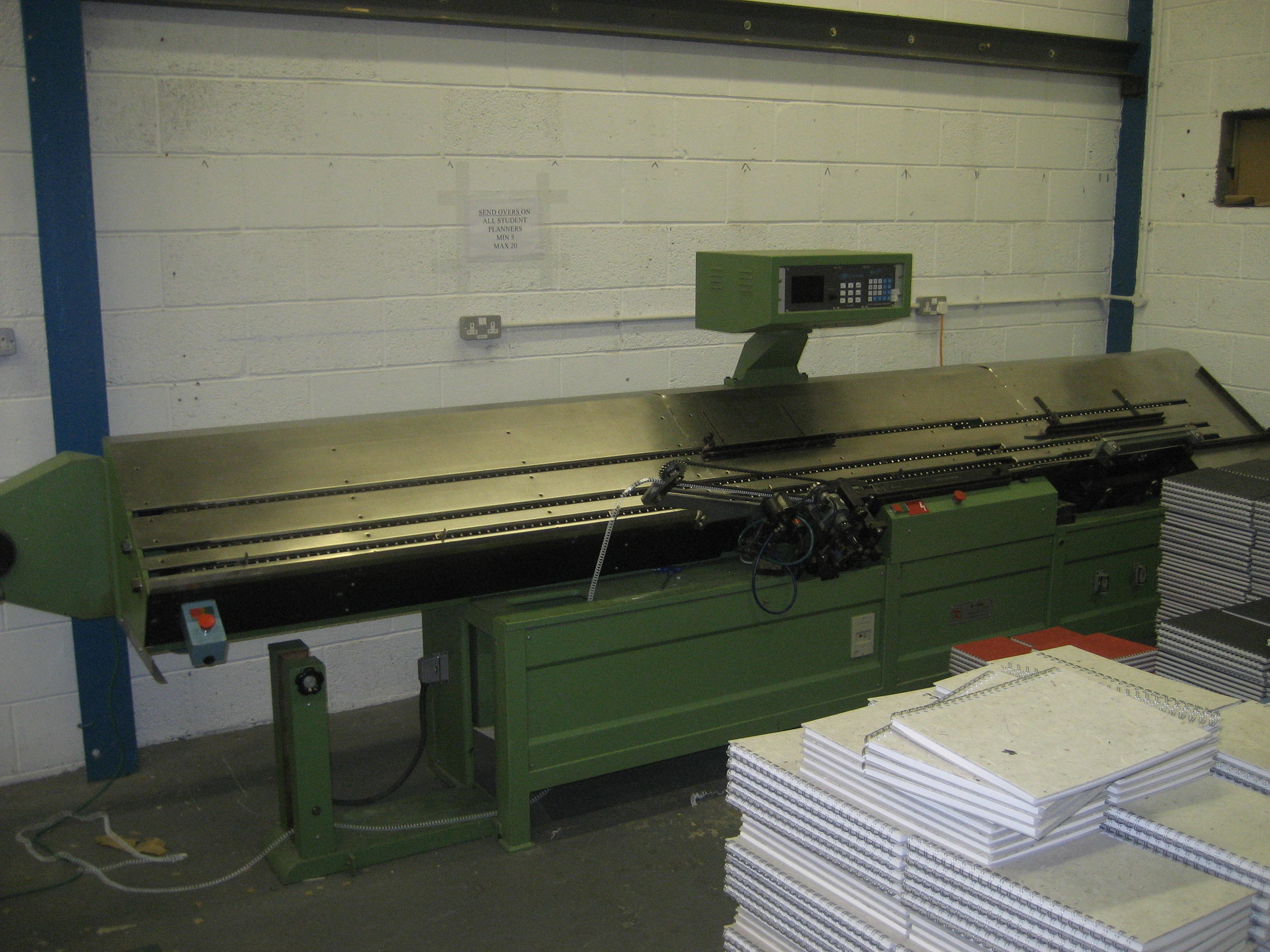 Rilecart B-596 Wire Binding Machine