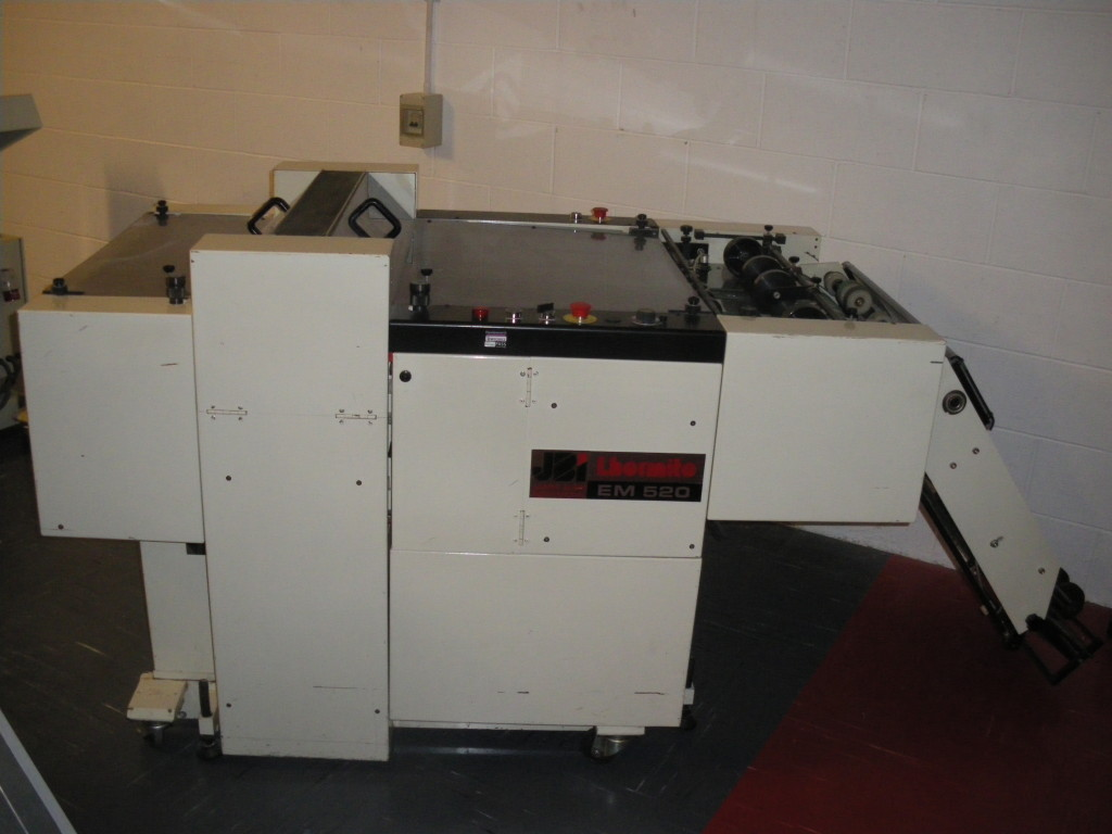James Burn Lhermite EM520 Automatic Punching Machine