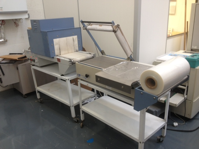 Adpak LS400 and Adpak PV400 Shrink Wrapping Tunnel