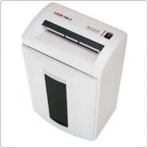 HSM 104.3 Desk Side Shredder
