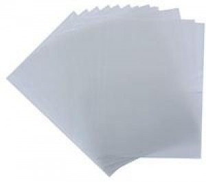 A4 Frosted Polypropylene Covers