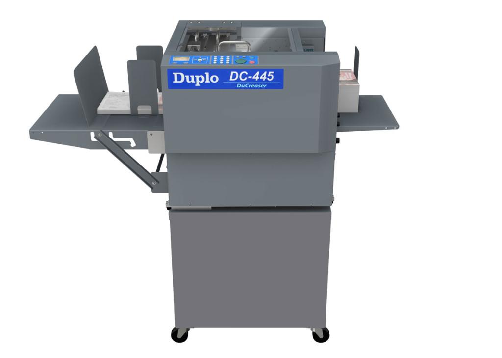 Duplo DC-445 DuCreaser Creasing Machine