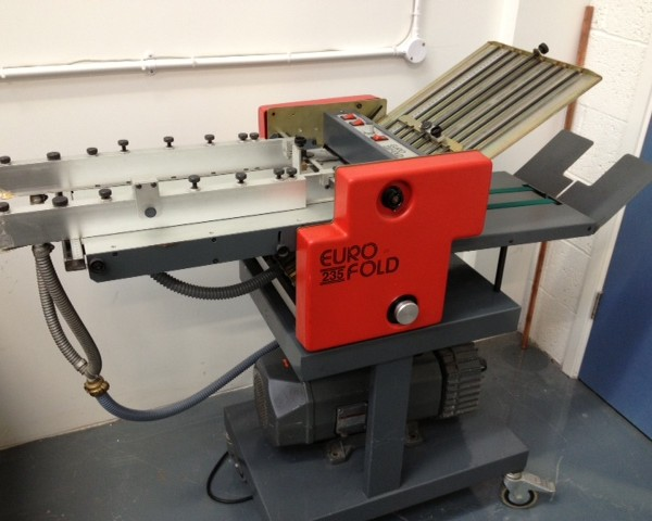 Eurofold 235 SM Suction Folder