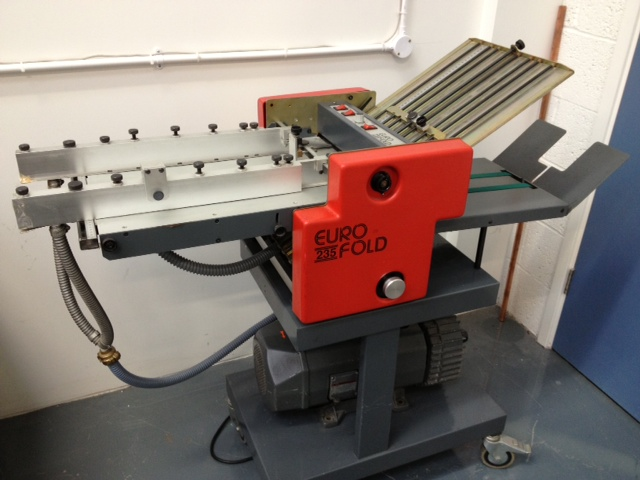 Eurofold 235 SM Suction Folder