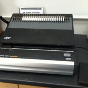 GBC MP-2000 Electric Comb Binding Punch