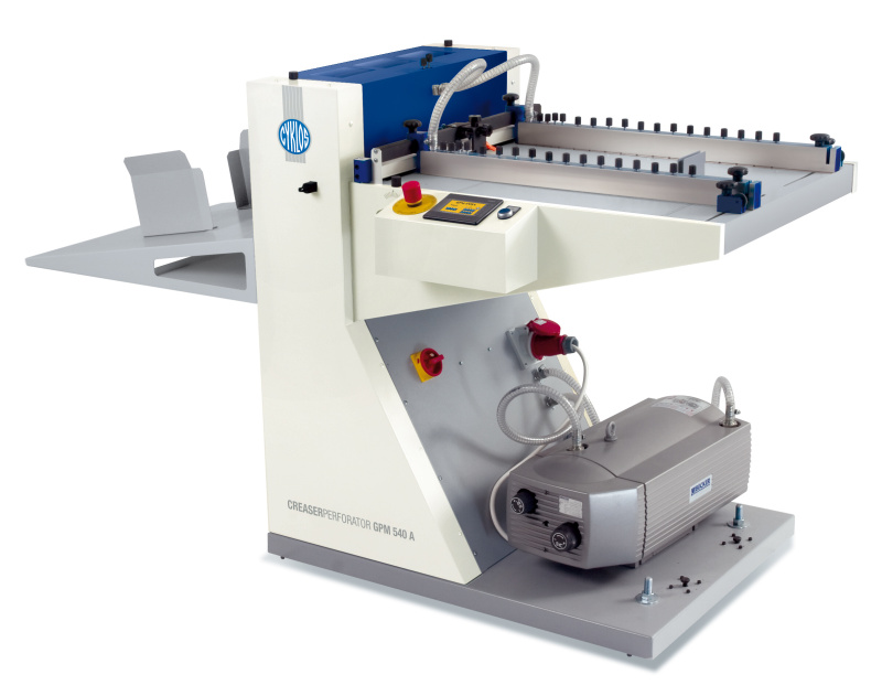 Cyklos GPM 540 SA Creasing Perforating Machine