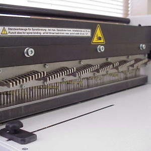 Renz P500 Spiral Binding Punching Dies