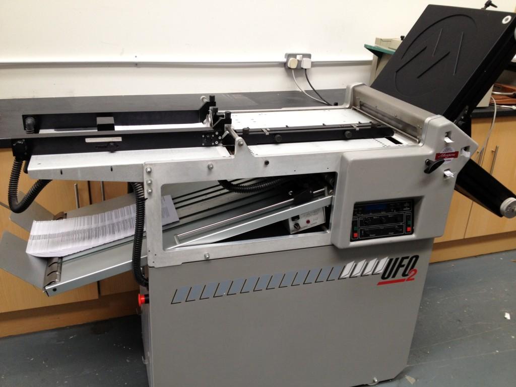 Morgana UFO2 Paper Folding Machine