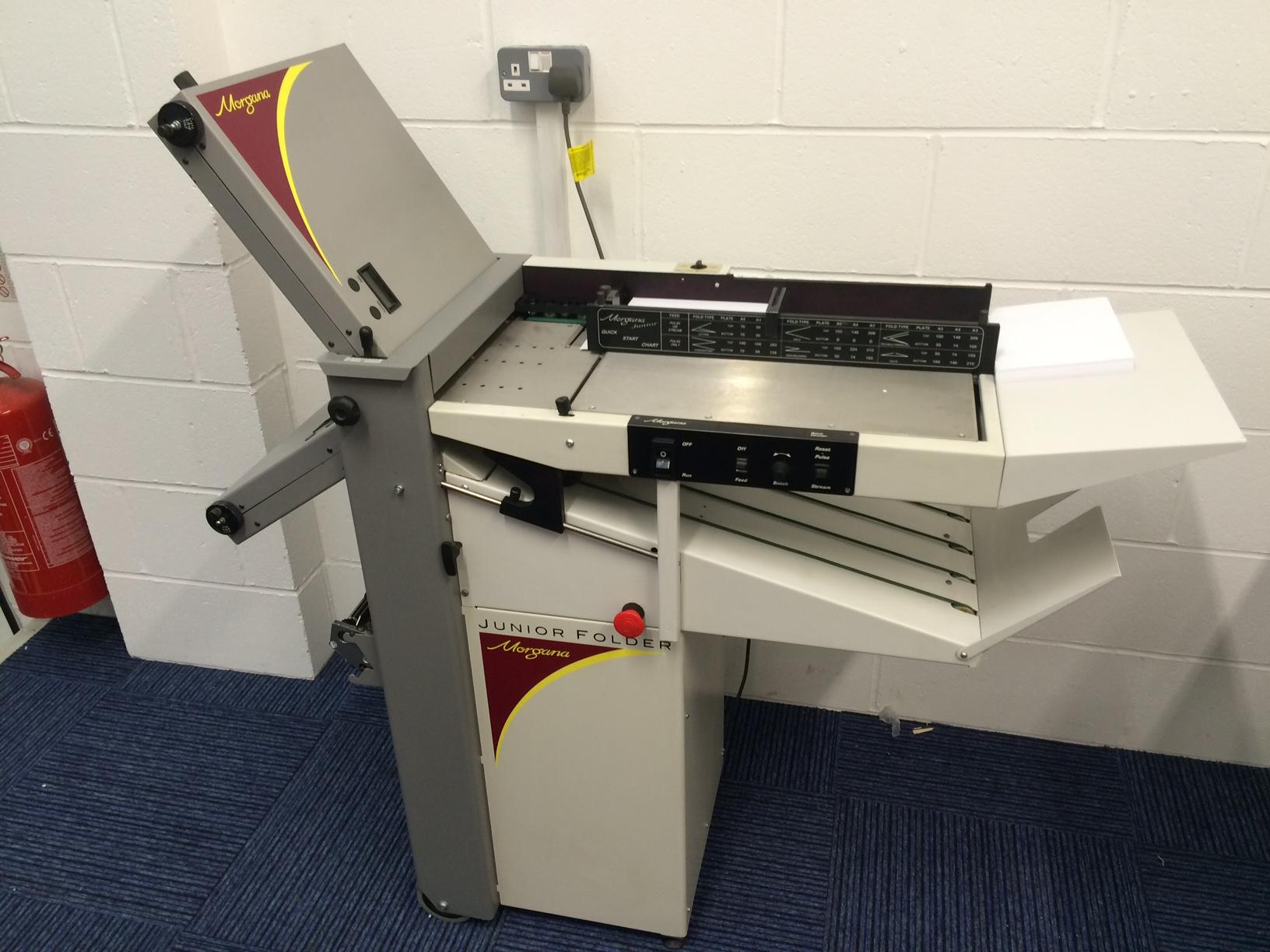 Morgana Junior Paper Folding Machine