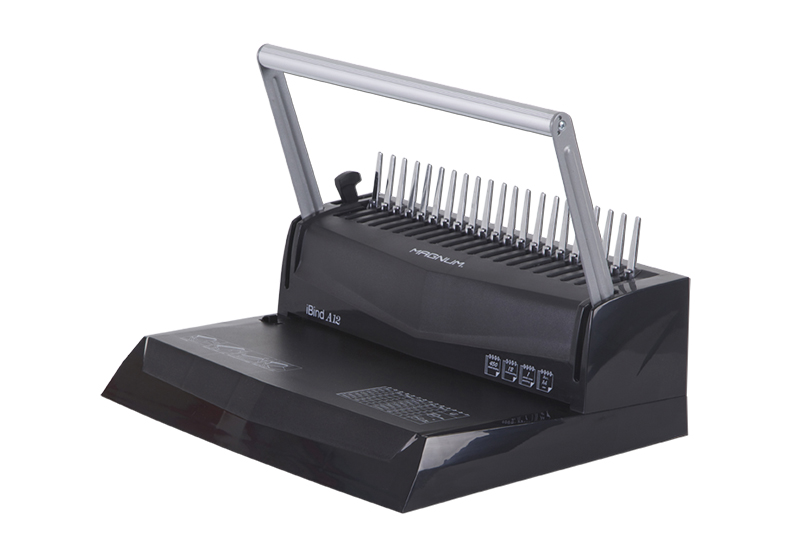 Magnum iBind A12 Manual Comb Binding Machine