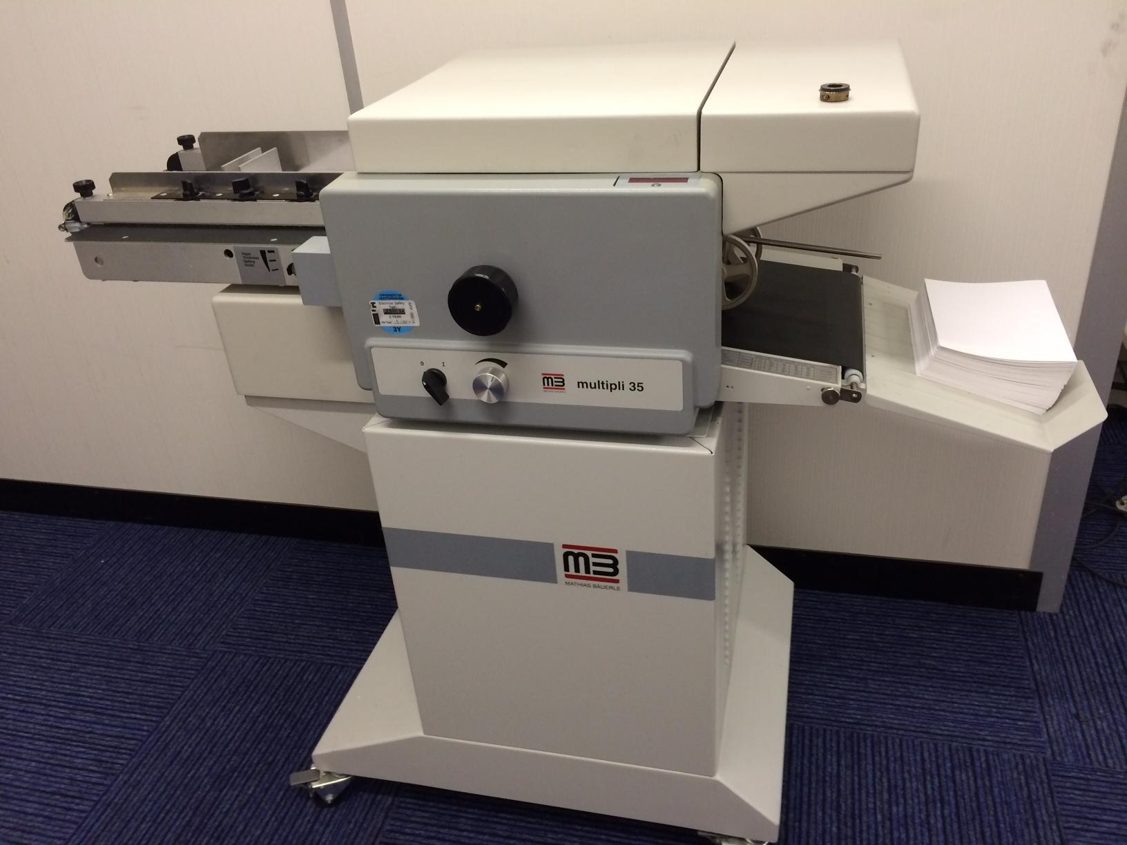 MB Multipli 35 Folding Machine