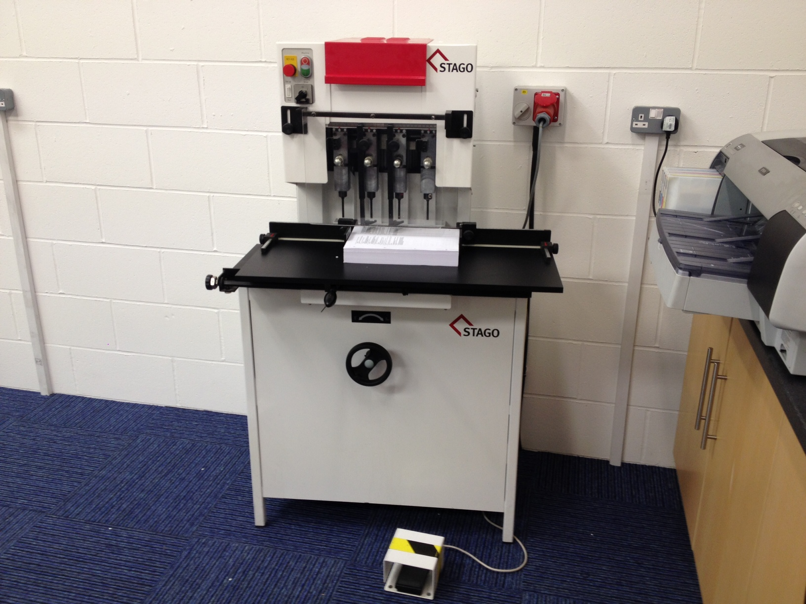 Used Stago PB5010 Paper Drill