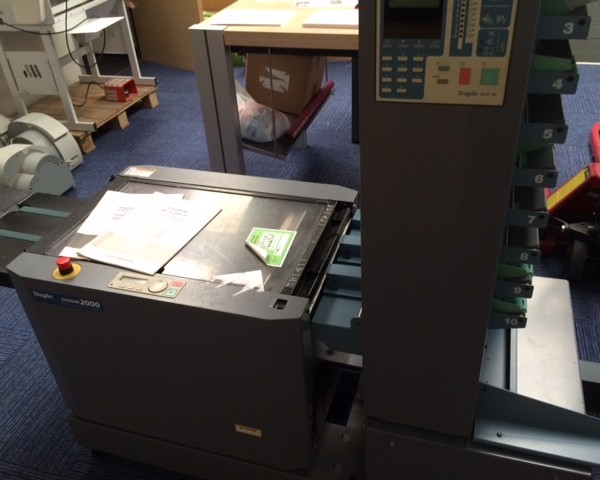 Duplo DBM120 and DFC10 Booklet Maker
