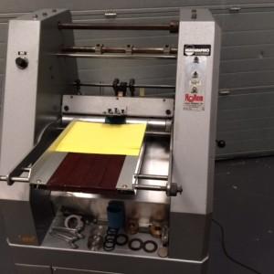 Rollem Auto 4 Creasing Perforating Machine