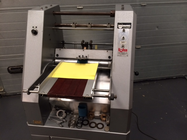 Rollem Auto 4 Creasing Perforating Machine