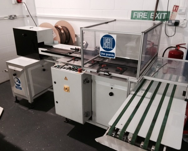 Pfaffle F162a Wire Binding Machine